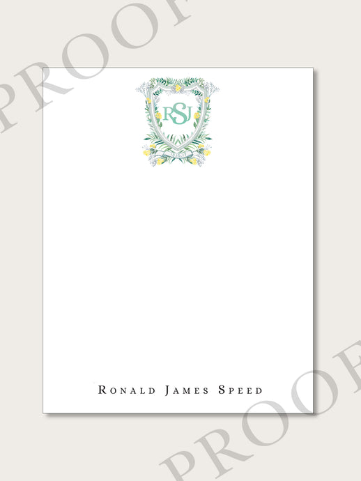 The R.J. Collection - Flat Notecards