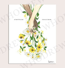 Load image into Gallery viewer, Stronger Together, Today's Bouquet Print