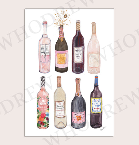 """Wine Weekend"" Print"