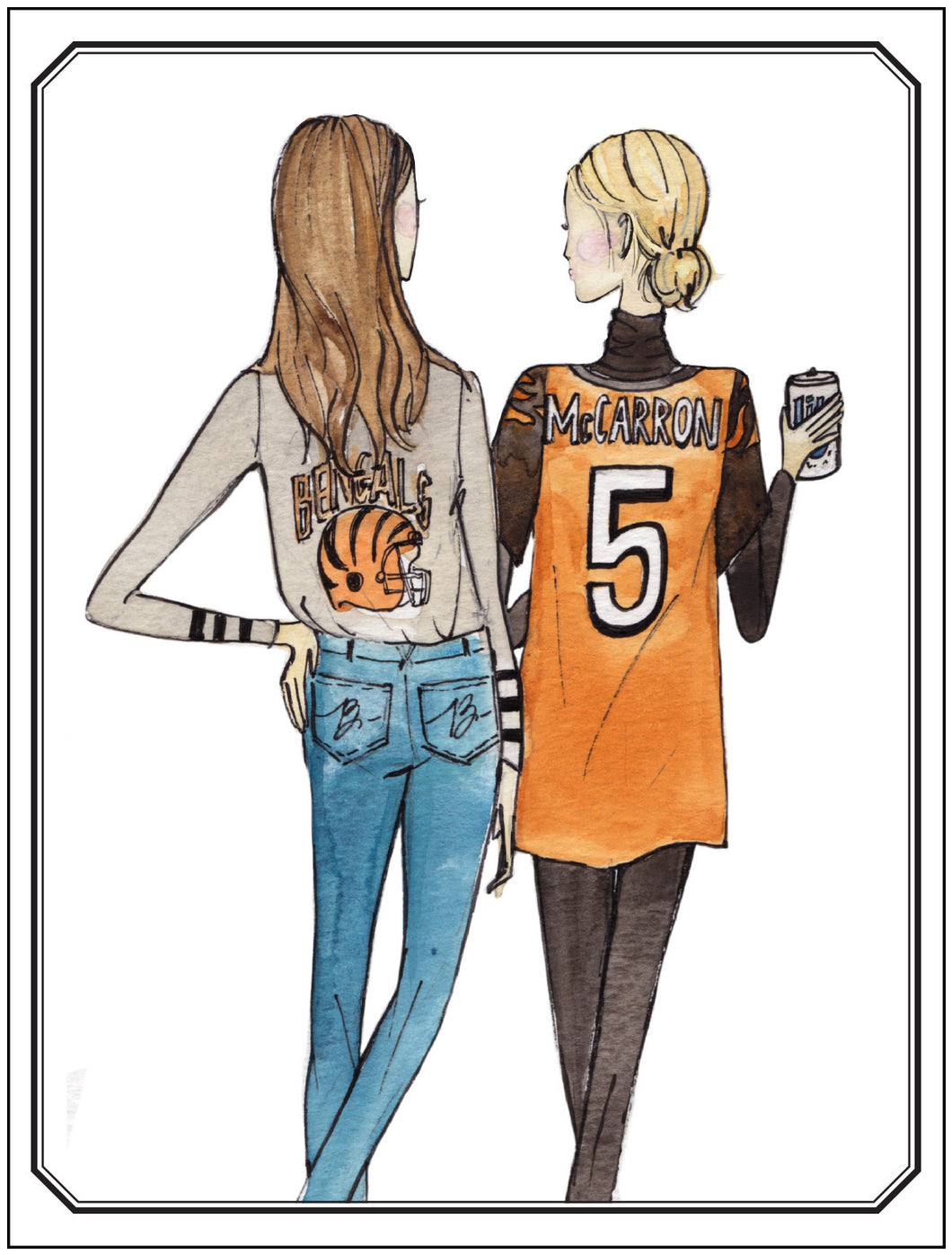 Girlfriends, Bengals Fans