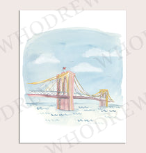 Load image into Gallery viewer, Whodrew Brooklyn Bridge