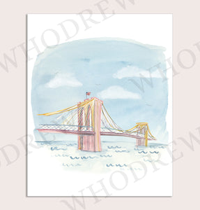 Whodrew Brooklyn Bridge