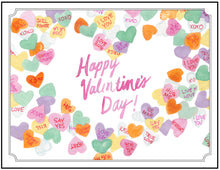 Load image into Gallery viewer, Happy Valentine's Day - Candy Hearts!
