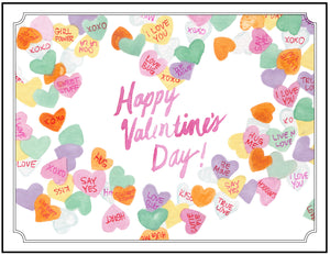 Happy Valentine's Day - Candy Hearts!