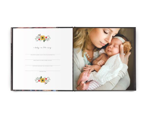 Custom Bound Baby Book