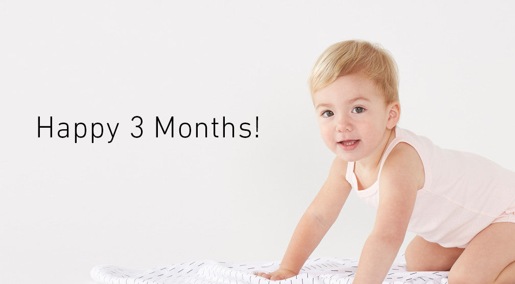 We're 3 Months Old Today!