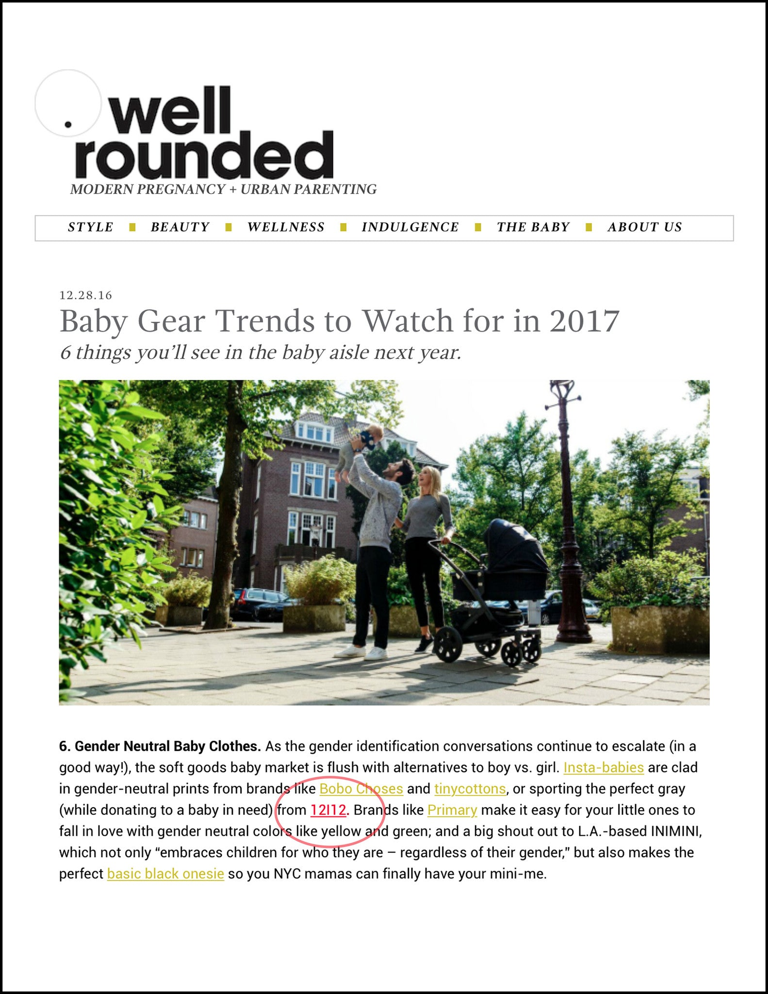 Well Rounded: 2017 Baby Trends
