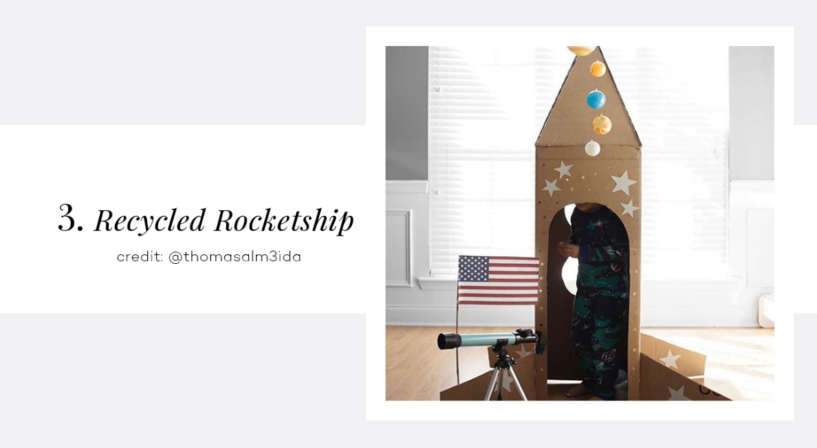 Recycled Rocketship