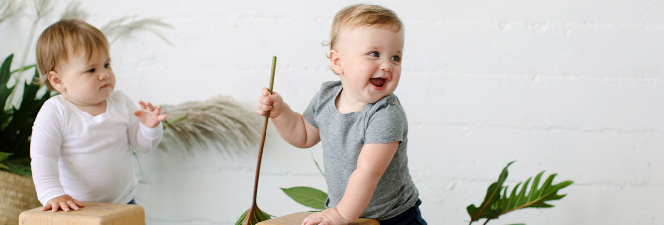 Organic Cotton Baby Tops and Tees by 12 12