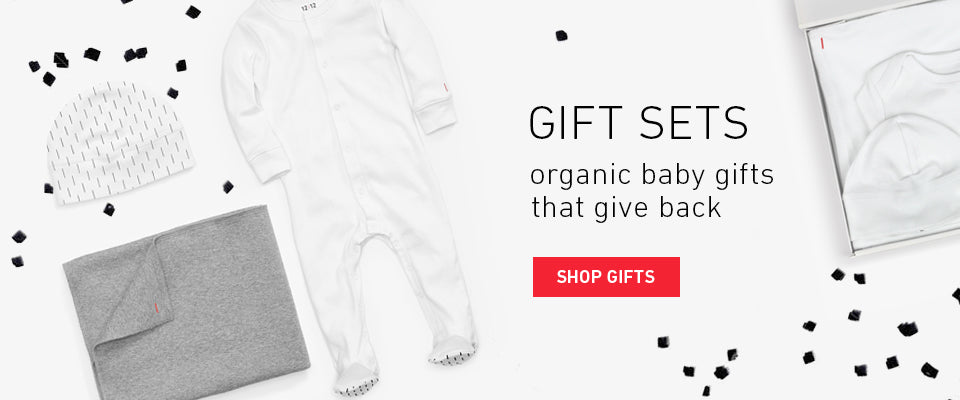 Gifts. Organic Baby Gifts that Give Back.