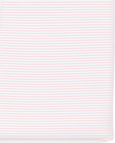 The Crib Sheet Pink Stripe