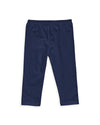 Organic Cotton Baby Legging in Navy