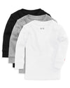 The Daily Long Sleeve Tee 3 Pack