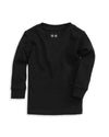 100% Organic Cotton Baby Long Sleeve T-shirt in Black