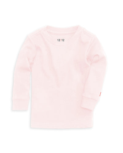 The Daily Long Sleeve Tee Pink