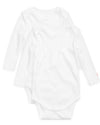 The Daily Long Sleeve Onesie 2 Pack