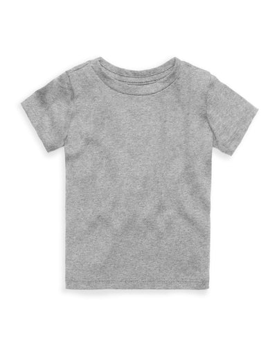 The Daily Short Sleeve Tee Heather Grey