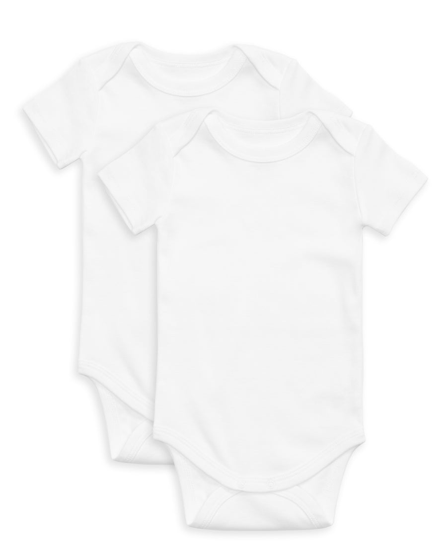 The Daily Short Sleeve Onesie 2 Pack