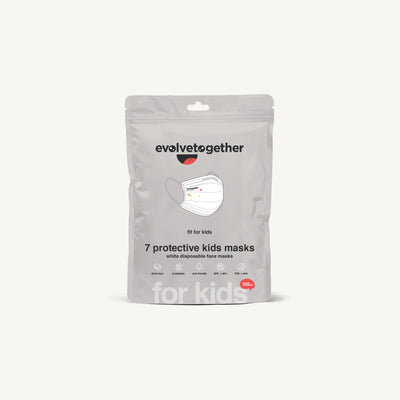 evolvetogether Kids Masks - 7 Day Pack