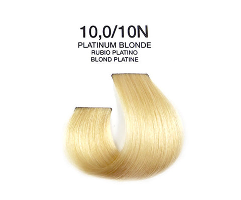 Cream Hair Color - Platinum Blonde