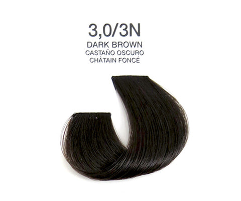 Cream Hair Color - Dark Brown