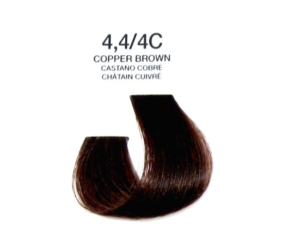 Cream Hair Color - Copper Brown