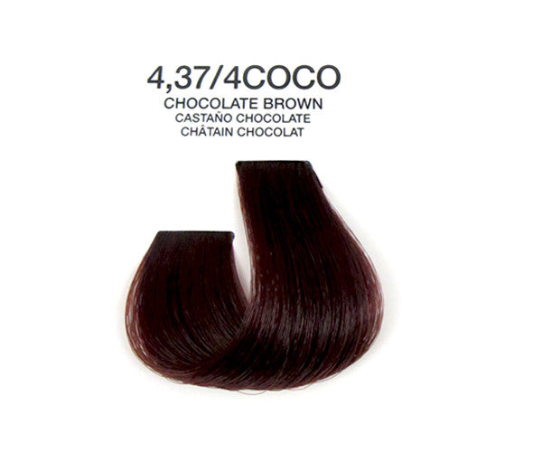 Cream Hair Color - Chocolate Brown