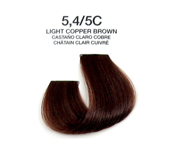 Cream Hair Color - Light Copper Brown