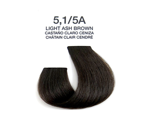 Cream Hair Color - Light Ash Brown