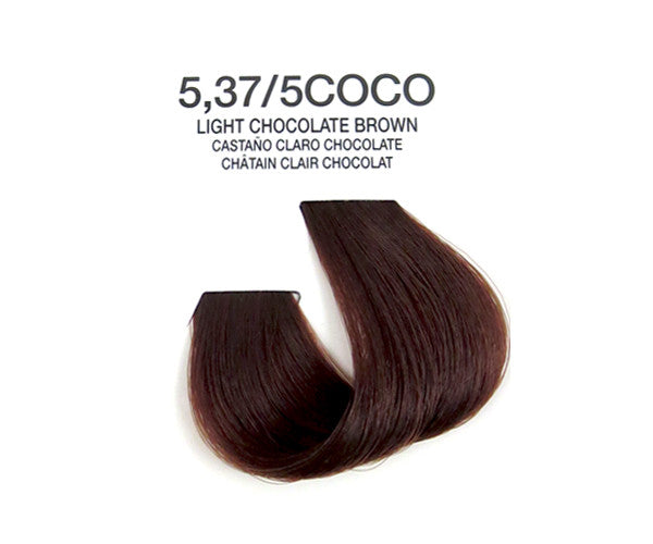 Cream Hair Color - Light Chocolate Brown
