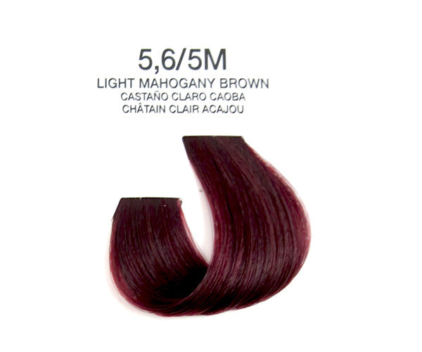 Cream Hair Color - Light Mahogany Brown
