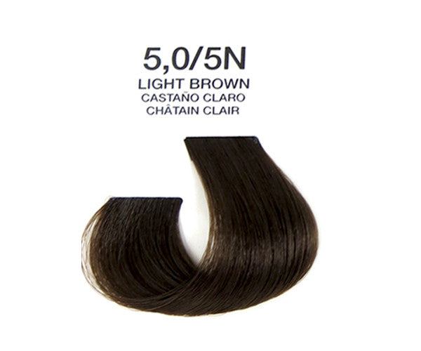Cream Hair Color - Light Brown
