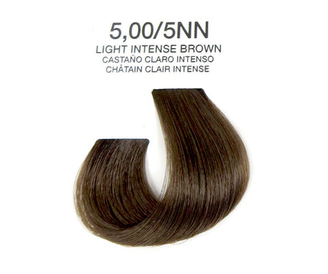 Cream Hair Color - Light Intense Brown