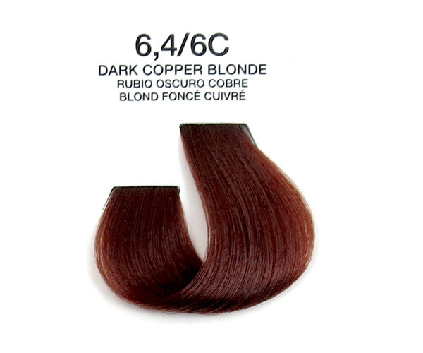 Cream Hair Color - Dark Copper Blonde