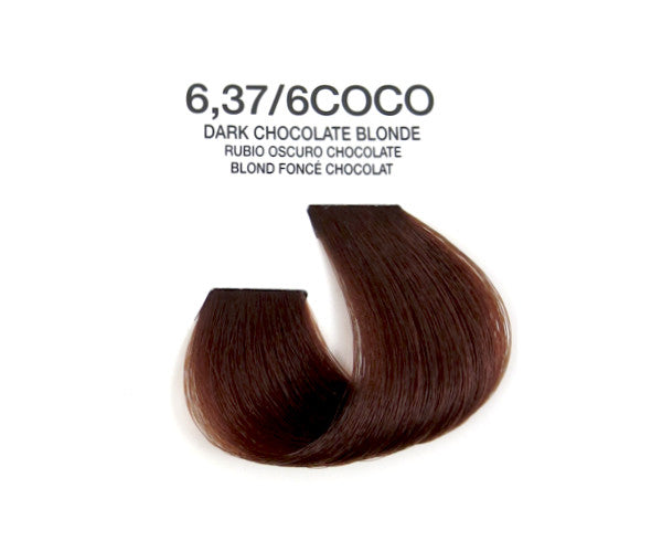 Cream Hair Color - Dark Chocolate Blonde