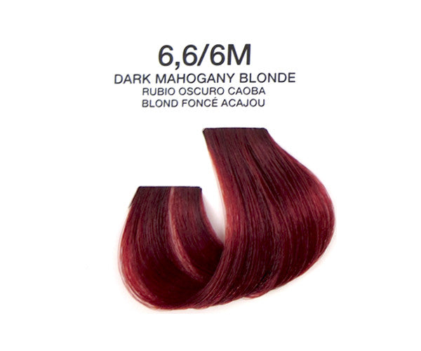 Cream Hair Color - Dark Mahogany Blonde