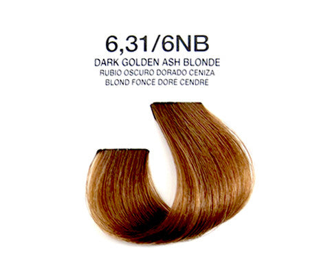 Cream Hair Color - Dark Golden Ash Blonde