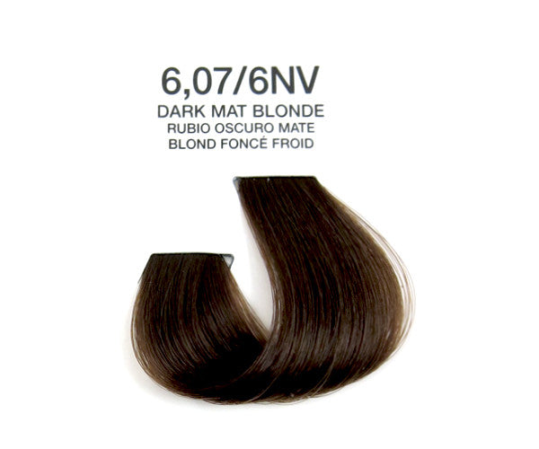 Cream Hair Color - Dark Mat Blonde