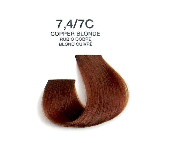 Cream Hair Color - Copper Blonde