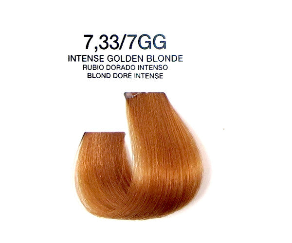 Cream Hair Color - Intense Golden Blonde