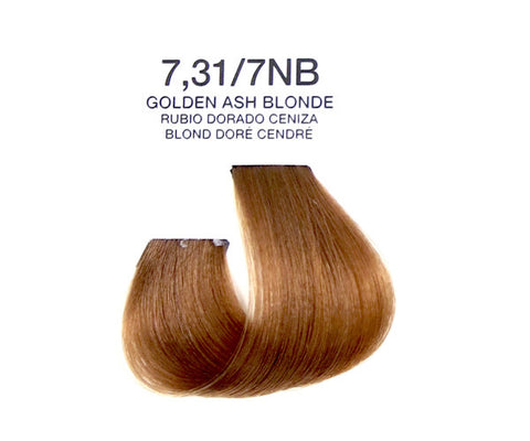 Cream Hair Color - Golden Ash Blonde