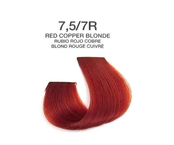 Cream Hair Color - Red Copper Blonde