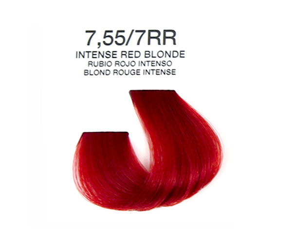 Cream Hair Color - Intense Red Blonde