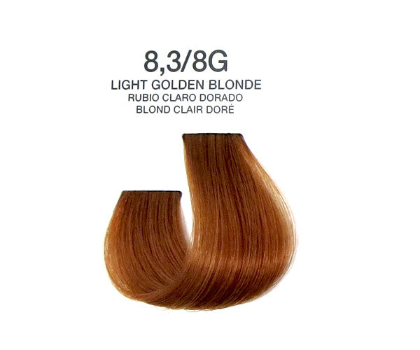 Cream Hair Color - Light Golden Blonde