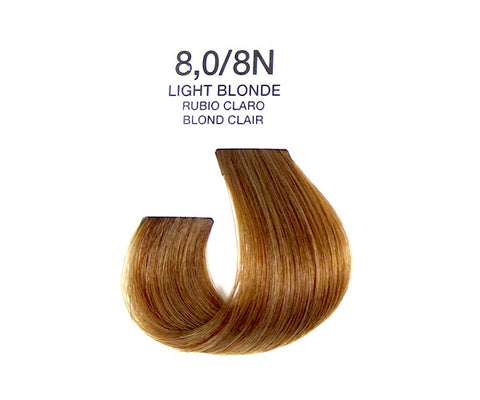 Cream Hair Color - Light Blonde