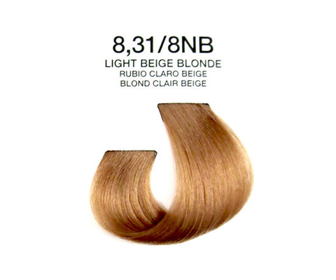 Cream Hair Color - Light Beige Blonde
