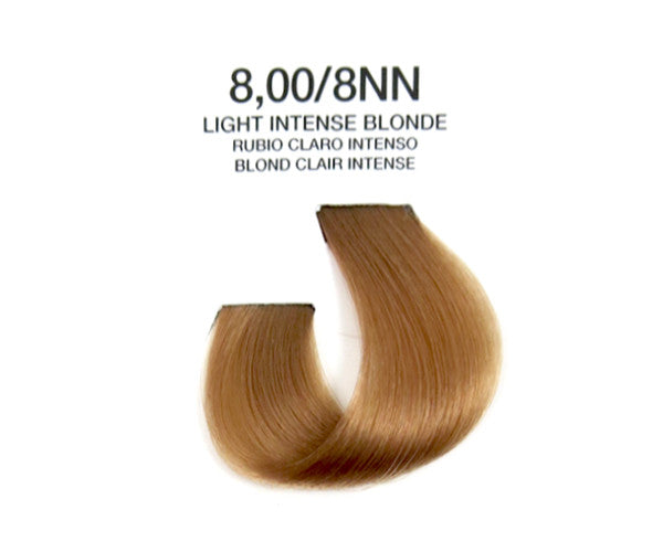 Cream Hair Color - Light Intense Blonde