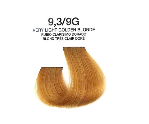 Cream Hair Color - Very Light Golden Blonde