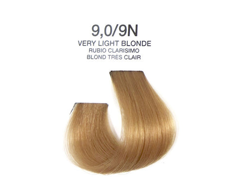 Cream Hair Color - Very Light Blonde
