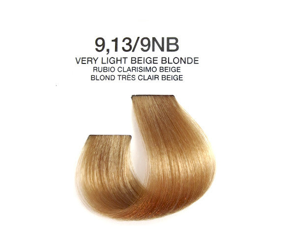 Cream Hair Color - Very Light Beige Blonde